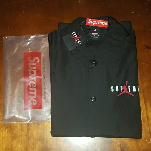 af052b096be Supreme Jackets & Coats | X Jordan Coach Jacket | Poshmark