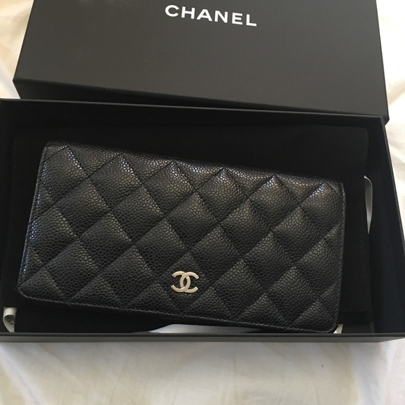 92162ea1d91d CHANEL Handbags - Chanel L-Yen Wallet caviar leather