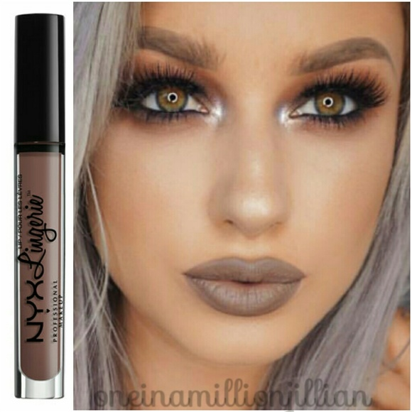 Nyx Makeup Lip Lingerie Matte Lipstick Honeymoon Poshmark