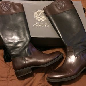 Vince Camuto Fabina Extended Calf knee high Boots