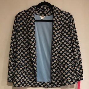Xhilaration Patterned Blazer