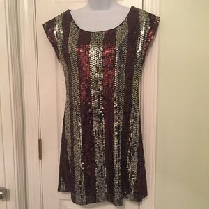 HP—H&M Sequined Party Dress