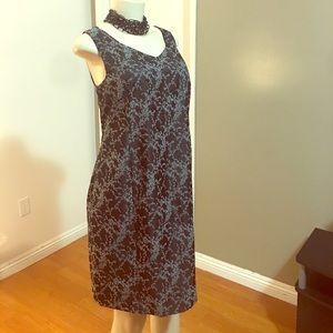 Classic Midi Maternity Dress