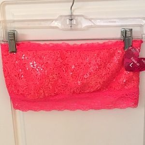 Other - Pink Bandeau Bra 🍁 2 for $20