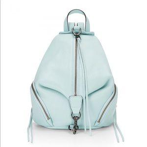 Rebecca Minkoff Medium Julian backpack Seamist New