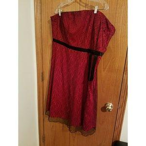 Vintage Torrid lace dress