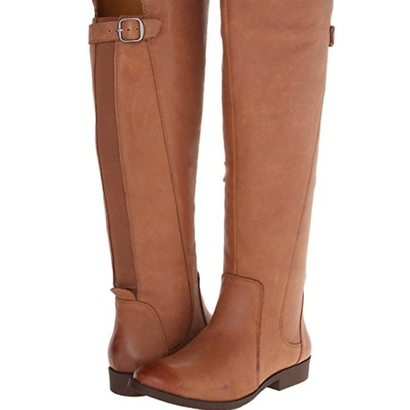 3da643638f2 Lucky Brand Zepia Motorcycle leather brown boots