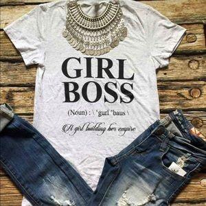 Tops - Boss girl t-shirt