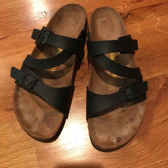 EUC Birkenstock Salina sandals, Size 40 (narrow)