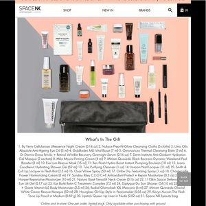 Space NK makeup & beauty products