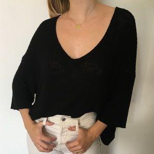 Dolman sleeve blouse