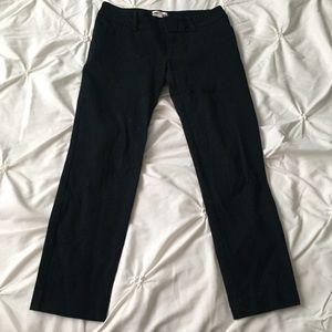 Merona Black Crop Stretch Ankle Cut Dress Pants