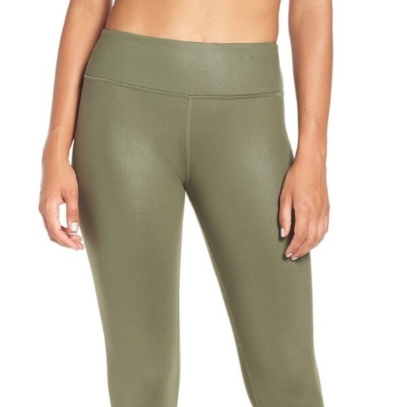 37bf60eae1 ALO Yoga Pants - ALO YOGA // sz L cinch pant legging green stretch