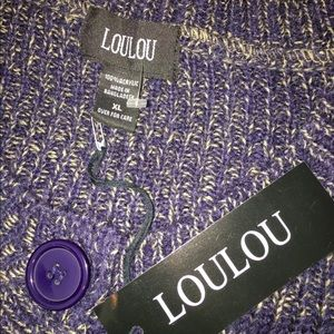 loulou Sweaters - LouLou NEW cardigan sweater XL front pockets
