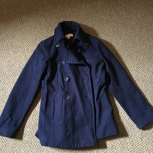 Merona Navy Blue Pea Coat