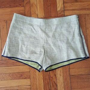 Club Monaco Tweed Shorts w/ Side Zippers - 0
