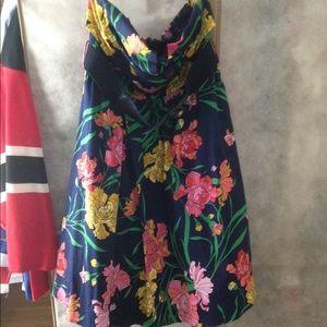 Torrid size 12 strapless dress