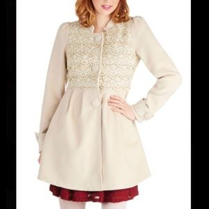 ModCloth Pick Your Pastry Coat