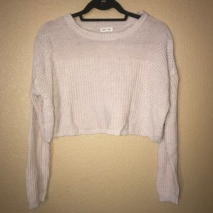 Urban Outfitter Silence + Noise crop sweater