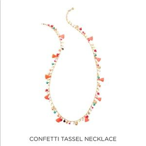 NWT Lilly Pulitzer Confetti Tassel Necklace