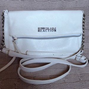 Kenneth Cole Reaction Faux Leather Crossbody Bag