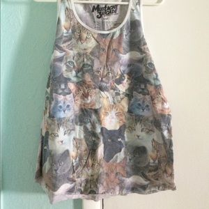 Cat Muscle Tee Urban Outfitters