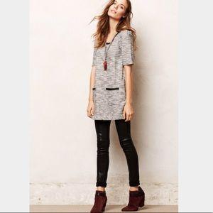 Anthro Beverly Knit Tunic Dress