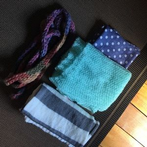 BUNDLE!!!! Long Blanket / sweater scarves