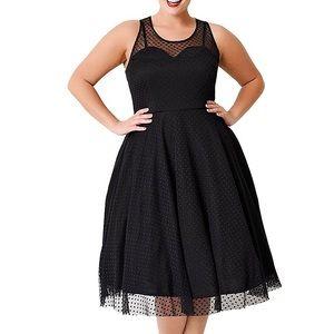 """Dresses & Skirts - Regular/Plus """"Marilyn"""" Polka Dots Lace Dress,4-22W"""