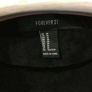Forever 21 Jackets & Coats - Forever 21 black fringe jacket
