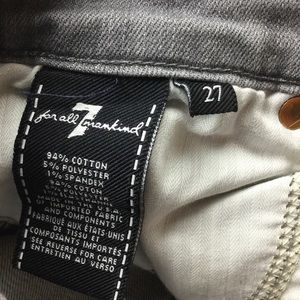 7 For All Mankind Jeans - 7 for all mankind the Skinny jean 27x29