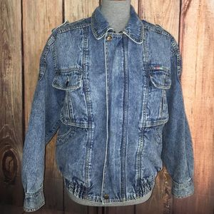 Perfect vintage Jean jacket American made Stallone