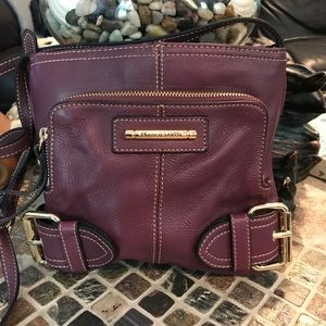Franco Sarto crossbody leather bag.