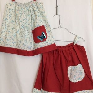 Other - Blue / Red Dress Set