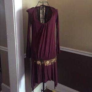 Burgundy Arden B dress