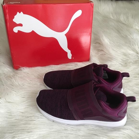 23cd40fdd1e2 Purple pump enzo strap sneakers. M 59bc1ceb620ff7f60b0035b1