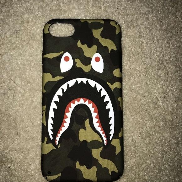 official photos e854f 19c0c Bape iPhone 7 Case! NWT