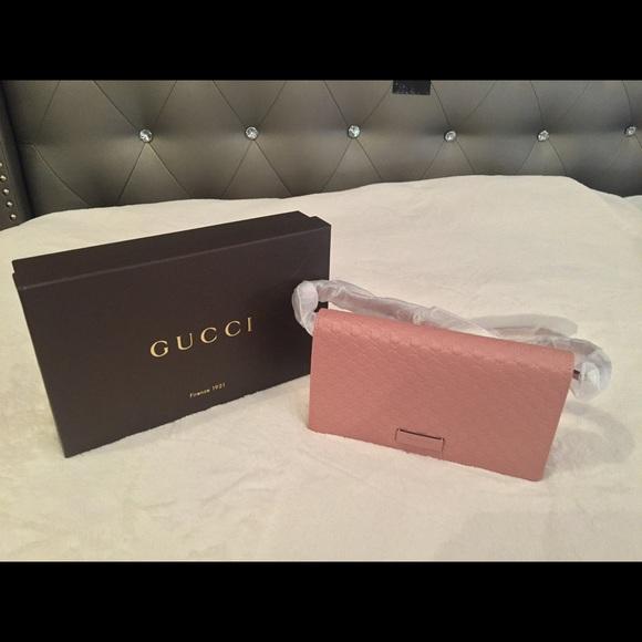 e0f891ab5ff Gucci Handbags - MICROGUCCISSIMA CROSSBODY GUCCI WALLET