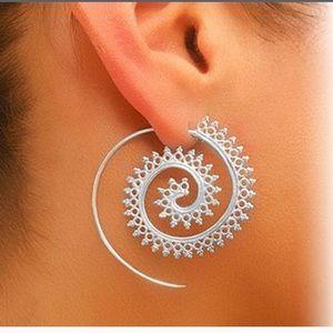 Jewelry - Silver Spiral Earrings