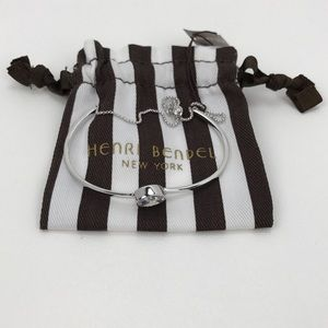 Henri Bendel Luxe Modern Asscher Delicate Bracelet