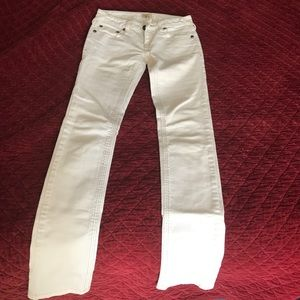 Free People off white jeans sz 25