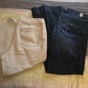 Maurice's Jeans and Capri Bundle size 13/14