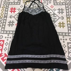 BCBG Max Azria S adorable black slip dress/tunic