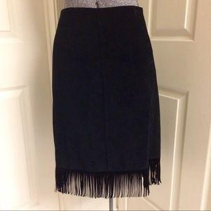 VINTAGE fringed skirt 🖤
