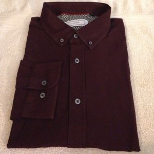 Five Four Solid Maroon Shirt size XL
