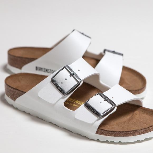 d79b6b67684f Birkenstock Shoes - Birkenstock - Arizona White Patent Leather Sandal