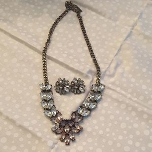 Baublebar necklace and earrings