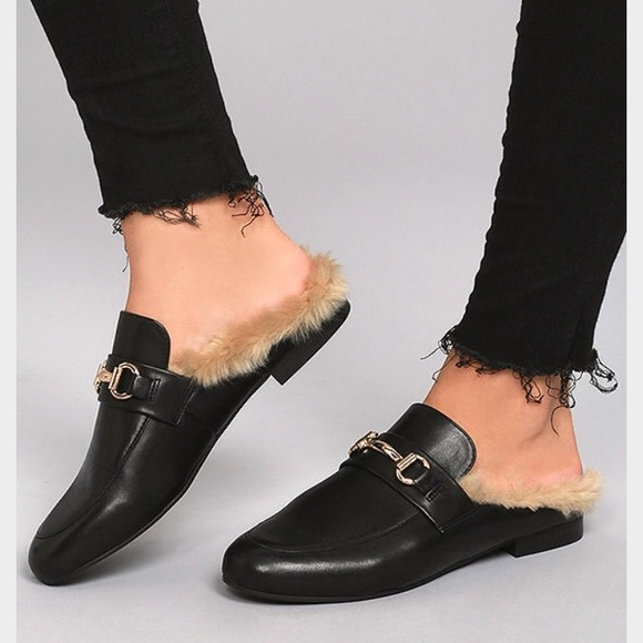 40223ff21a2 Steve Madden Faux Fur Loafers