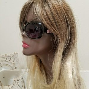 Accessories - Sexy Pink Black Hawaiian Sunglasses UV Protection