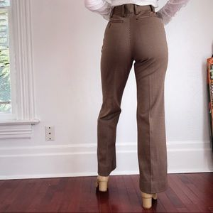 VINTAGE Houndstooth Trousers